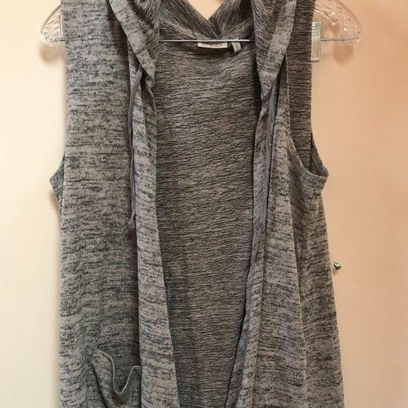 LOGO Lori Goldstein sweatshirt tunic large
